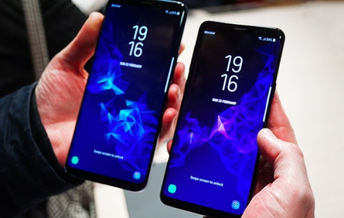 Samsung Galaxy S9+ chạy Android Pie